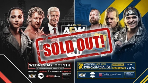 aew sold out 18.08.19